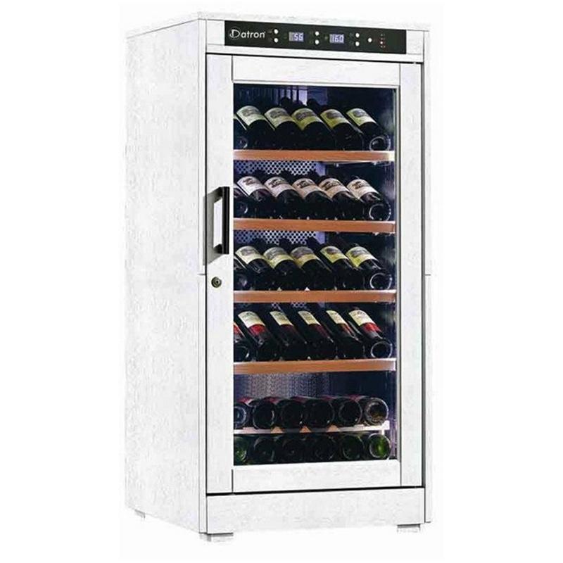 Vitrina de vinuri din Datron 66-85 sticle 1 zona temperatura C° lemn alb