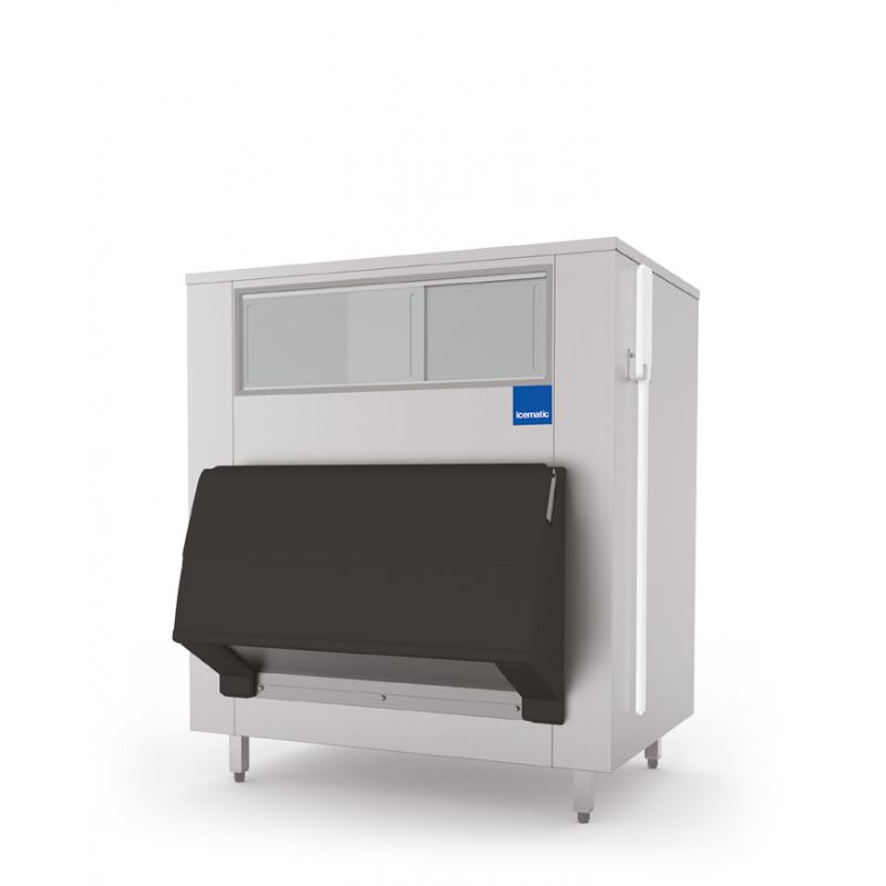 Container depozitare gheata pentru aparatele Icematic UD 500, capacitate 553kg, inox
