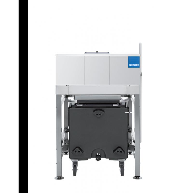 Container depozitare gheata pentru aparatele Icematic DR 140, capacitate 210kg, inox