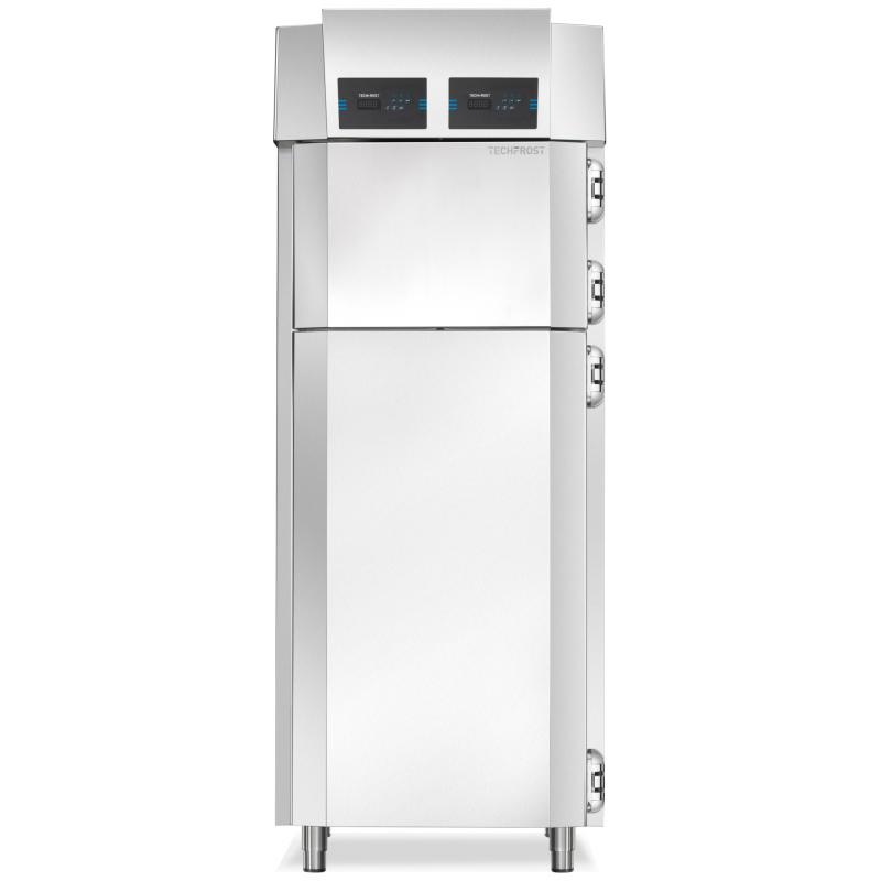 Congelator profesional Techfrost Essential EGX, capacitate 19 tavi, temperatura -10°C -25°C, inox