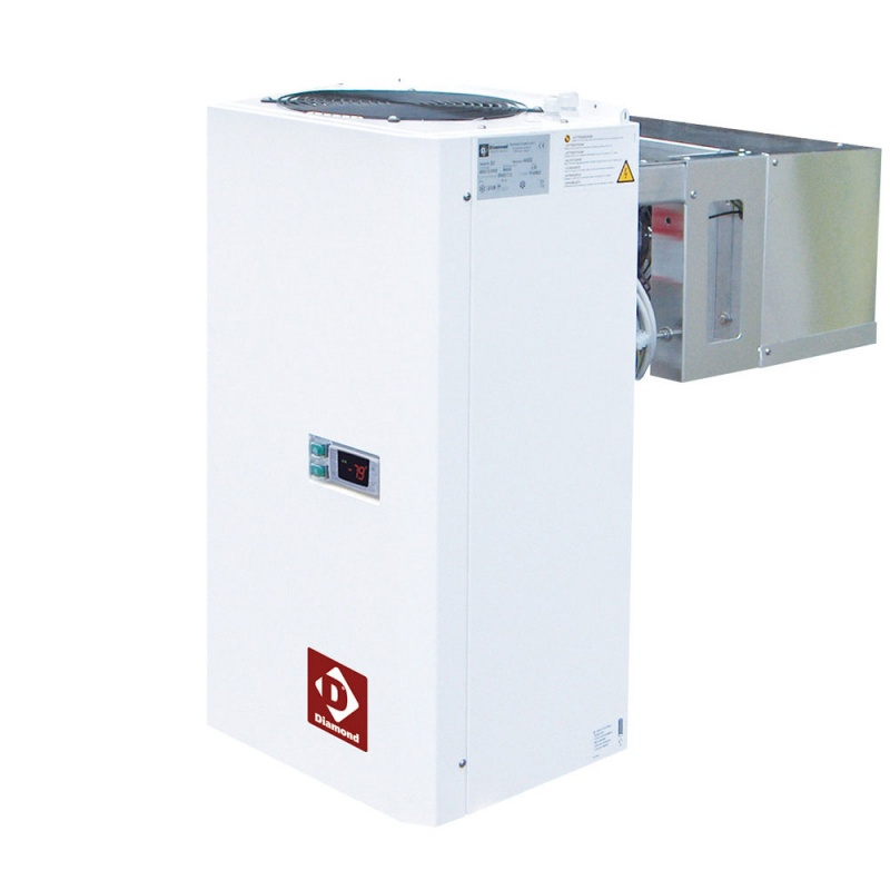 Camera frigorifica Diamond C48B/PM, ISO 80, capacitate 4449 l + Unitate de racire pentru camera frigorifica Diamond AN170-PED/A
