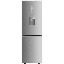 Combina frigorifica Haier C3FE735CMJ, 341 l, Clasa A++, No Frost, Dispenser, H 190 cm, Inox