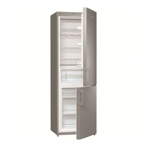 Combina frigorifica Gorenje RK6191AX, 321 l, Clasa A+, 185 cm, Argintiu