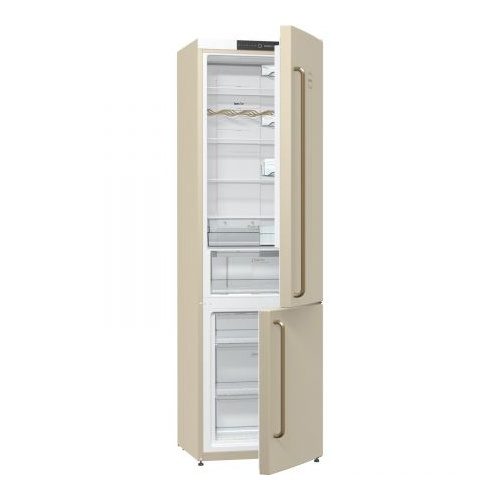 Combina frigorifica Gorenje Old Time NRK621CLI, NoFrost Plus, 363 l, Clasa A+, 200 cm, Crem