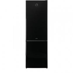 Combina frigorifica Gorenje Simplicity NRK62JSY2B, Full No Frost, 329 l, Clasa A++, 185 cm, Negru