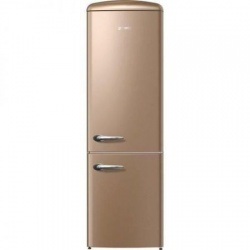 Combina frigorifica Gorenje Old Time ORK192CO, FrostLess, 326 l, Clasa A++, 194 cm, Cappuccino
