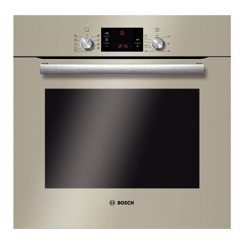 Cuptor incorporabil Bosch HBG33B530, Electric, Multifunctional, Convectie, Curatare EcoClean, Grill, Clasa A, Sticla quart