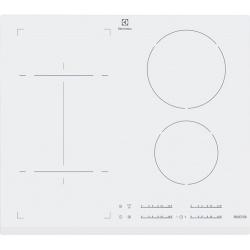 Plita incorporabila inductie Electrolux EHI6540FW1, 4 zone de gatit, 60cm, Timer electronic, Alb