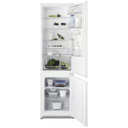 Combina frigorifica incorporabila Electrolux ENN3101AOW, 303 L, H 185, Clasa A+