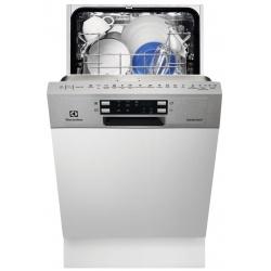 Masina de spalat vase partial incorporabila Electrolux ESI4500LOX, 9 seturi, 6 Programe, 45 cm, Clasa A+