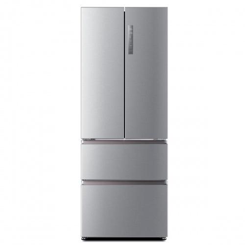 Combina frigorifica Haier HB16FMAA, Clasa A+, 485 litri, latime 70 cm, Inox