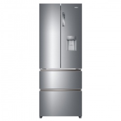 Combina frigorifica Haier HB16WMAA, Clasa A+, 422 litri, latime 70 cm, Inox