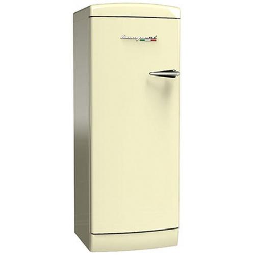 Frigider cu o usa Retro Bompani BOMP101/C, Clasa A++, 275 litri, Latime 60 cm, Crem