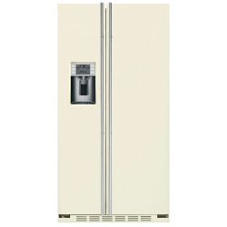 """Side by side incorporabil IOMABE Luxury """"K"""" Series ORE24CGF3C, clasa A+, 572 l, No Frost, Crem"""