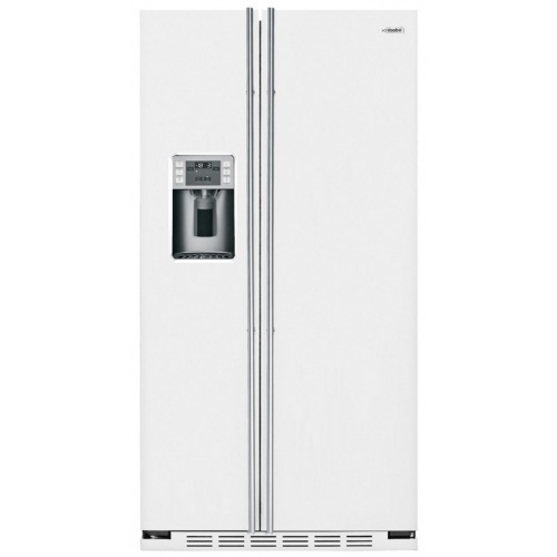 """Side by side incorporabil IOMABE Luxury """"K"""" Series ORE24CGF3W, clasa A+, 572 l, No Frost, Alb"""