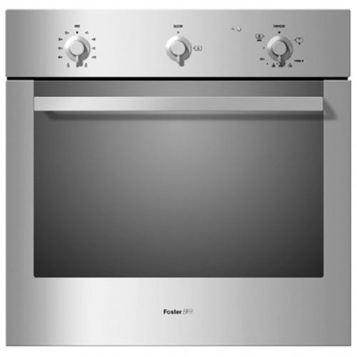 Cuptor gaz incorporabil FOSTER 7191061, 60cm, 63l, grill gaz, inox