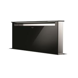 Hota aplicata Fulgor Milano LHDD 9010 RC BK, 90 cm, sistem Downdraft,telecomanda, sticla neagra