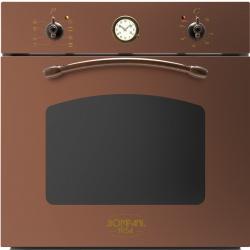 Cuptor incorporabil Bompani Rustico Rame BO249SC/E, electric, multifunctional, 60cm, 54l, cupru