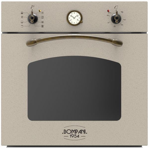 Cuptor incorporabil Bompani Rustico Avena BO244SC/E, electric, multifunctional, 60cm, 54l, avena