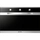 Cuptor electric incorporabil Smalvic LINEAR FI-95WT S , 90cm, 110l, grill electric, inox si negru