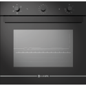 Cuptor electric incorporabil Smalvic GLASS NERO FI-74WTS, 60cm, 74l, grill electric, negru