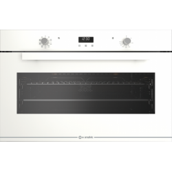 Cuptor electric incorporabil Smalvic GLASS BIANCO FI-95MTB, 90cm, 110l, grill electric, alb