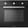 Cuptor electric incorporabil Smalvic FLAT NERO FI-64WTS, 60cm, 64l, grill electric, negru