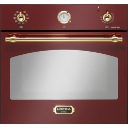 Cuptor incorporabil LOFRA DOLCEVITA FRR69EE, incorporabil, 60cm, 66l, grill electric, rosu