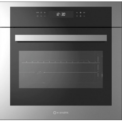 Cuptor electric incorporabil Smalvic QUADRO FI-64MTO , 60 cm, 64l, grill electric, inox si negru