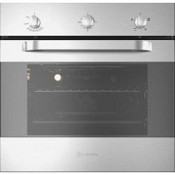 Cuptor gaz incorporabil Smalvic TARGET FI-64GEVTC, 60 cm, 64l, grill electric, inox