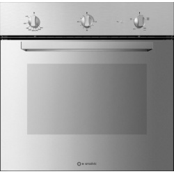 Cuptor gaz incorporabil Smalvic BASIC FI-64GETC, 60 cm, 64l, grill electric, inox oglinda