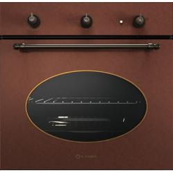 Cuptor gaz incorporabil Smalvic BASIC FI-64GETC, 60 cm, 64l, grill electric, negru