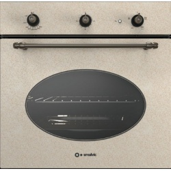 Cuptor gaz incorporabil Smalvic COUNTRY FI-64GETC, 60 cm, 64l, grill electric, avena