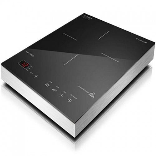 Plita cu inductie Caso S-Line 2100,2100W,12 nivele de putere,negru