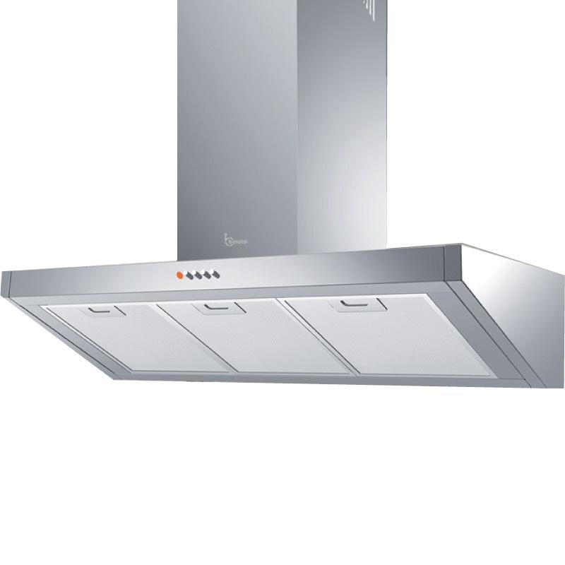 Hota design Baraldi Bankia 01BAN090IST70, 90 cm, 700 m3/h, inox
