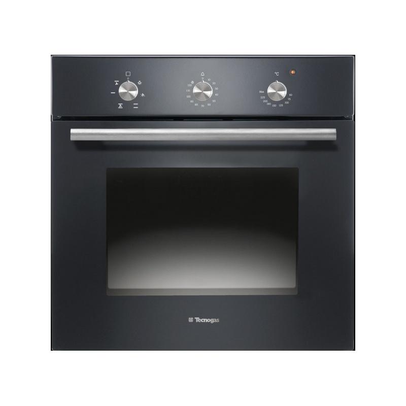 Cuptor incorporabil TECNOGAS MODERNO FM640BK, incorporabil, 60cm, 65l, grill electric, negru lucios