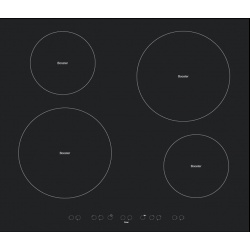 Plita incorporabila Tecnogas MODERNO L64VBK, 60 cm, plita gaz, 4 arzatoare, sistem siguranta Stop-Gaz, negru