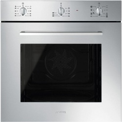 Cuptor incorporabil Smeg Classica SF6388X, electric, multifunctional, 60cm,inox antiamprenta
