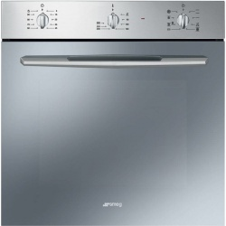 Cuptor incorporabil Smeg Elementi SF468X, electric, multifunctional, 60cm,inox antiamprenta