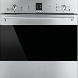 Cuptor incorporabil Smeg Classica SF6388X, electric, multifunctional, 60cm,inox antiamprenta