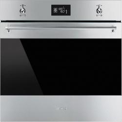 Cuptor incorporabil Smeg Classica SF6390XPZE, electric, multifunctional, 60cm,inox antiamprenta, pizza