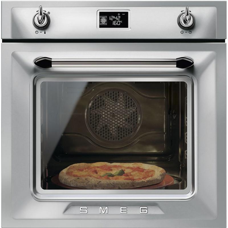 Cuptor incorporabil Smeg Victoria SFP6925XPZE, electric, multifunctional, 60cm, inox antiamprenta, pizza, piroliza