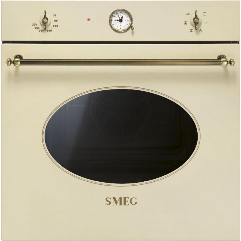 Cuptor incorporabil Smeg Coloniale SF800PO, electric, multifunctional, 60cm, crem