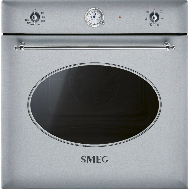 Cuptor incorporabil Smeg Coloniale SF850X, electric, multifunctional, 60cm, inox