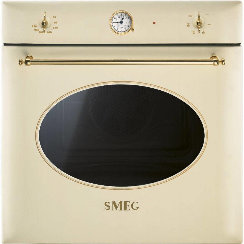 Cuptor incorporabil Smeg Coloniale SF850P, electric, multifunctional, 60cm, crem