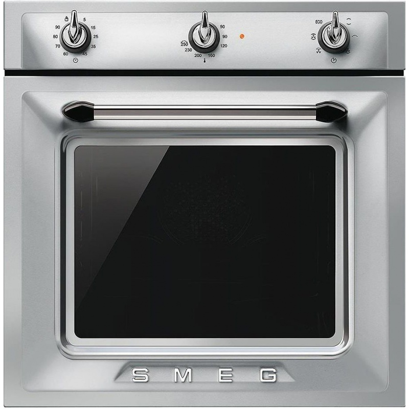 Cuptor incorporabil Smeg Victoria SF6903X, electric, multifunctional, 60cm, inox antiamprenta
