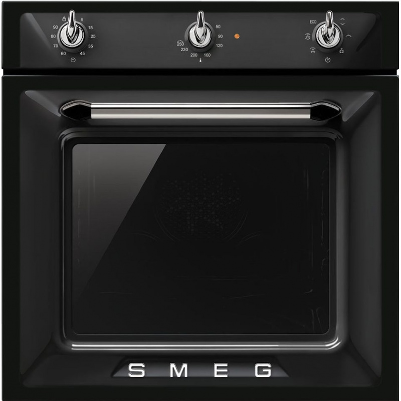 Cuptor incorporabil Smeg Victoria SF6903N, electric, multifunctional, 60cm, negru
