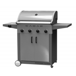 Gratar pe gaz cu arzator lateral CADAC ENTERTAINER STAINLESS STEEL 4B+SB