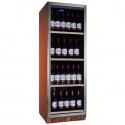 Vitrina de vinuri Nevada Color NW140S-S-C-8023, 140 sticle, doua zone, cupru (RAL 8023)