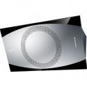 Hota design Baraldi Noa 01NOA090STB70, 90 cm, 700 m3/h, otel inoxidabil/negru